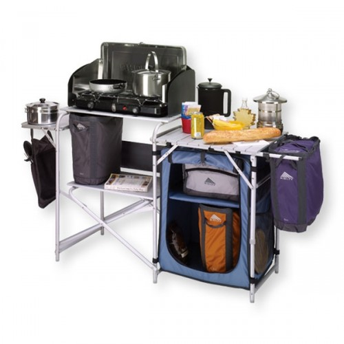 Camping Kitchen : Outdoor Camping Kitchen  Outdoor Kitchen Building and Design